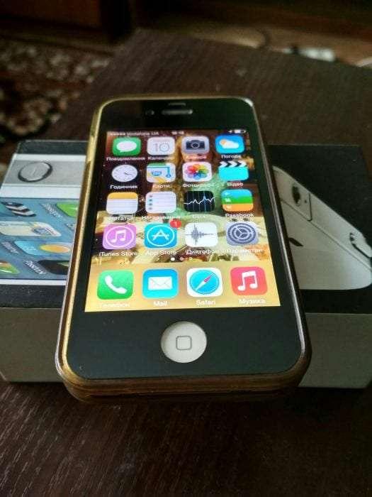 Обмен с доплатой iPhone 4 32 GB Neverlock на 4S/5/5S/5C/SE. Или продам
