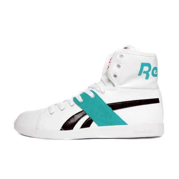 НОВЫЕ Reebok Top Down, высокие кожаные кроссовки.