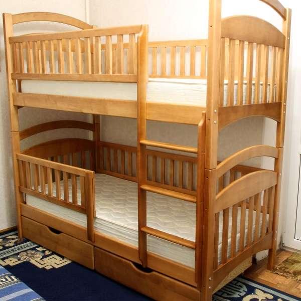 Двухъярусная кровать Карина Люкс HD. Усиленная, высокое качество.