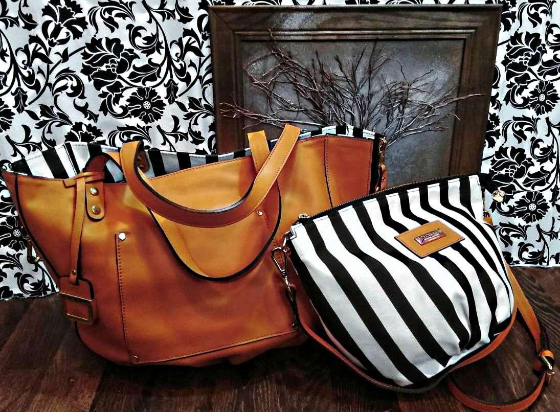 Итальянская кожаная двухсторонняя сумка-шоппер
