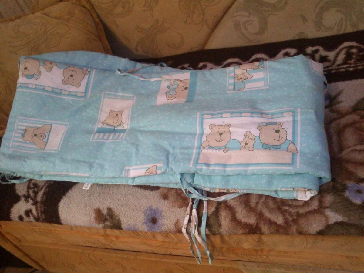 Защита для кроватки вашей крохи
