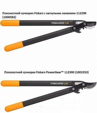 Сучкорез Fiskars (112290) и Сучкорез Фискарс PowerGear™ (112300)