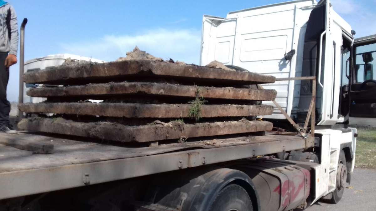 Плиты дорожные 3х1,75 б/у с доставкой