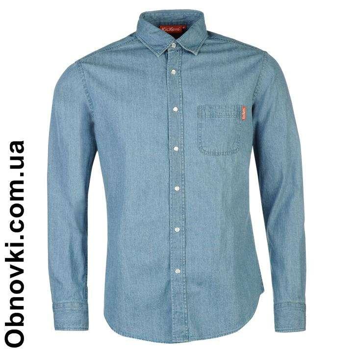 Рубашка с длинными рукавами из джинсовой ткани KICKERS