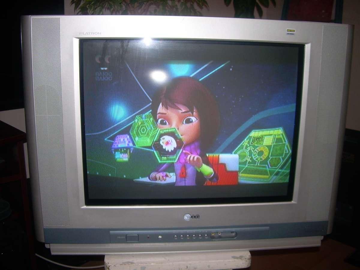 Телевизор кинескопный LG RT-21FB55M (б/у)