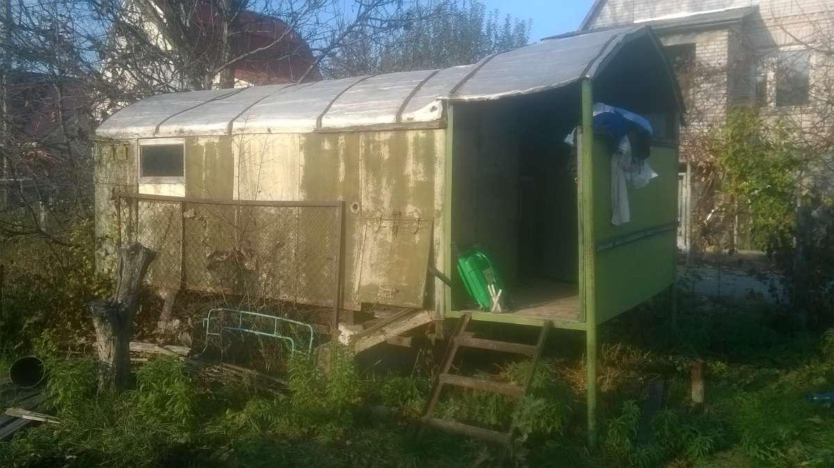 Продам садовый домик / будку