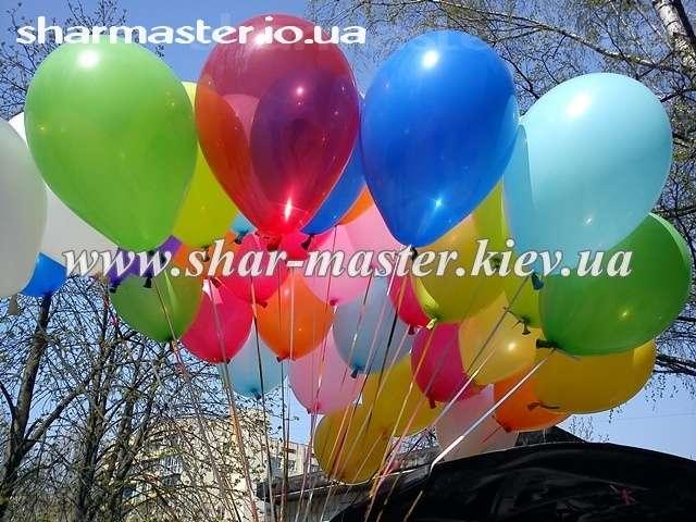 Воздушные гелиевые шары в Киеве, оформление детских праздников шарами.