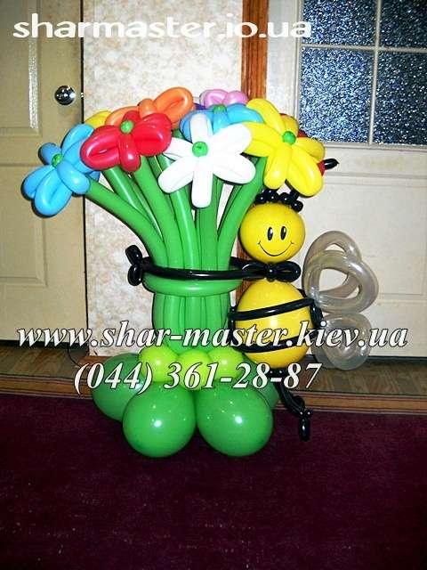 Воздушные шары в Киеве, оформление детских праздников шарами, фотозона