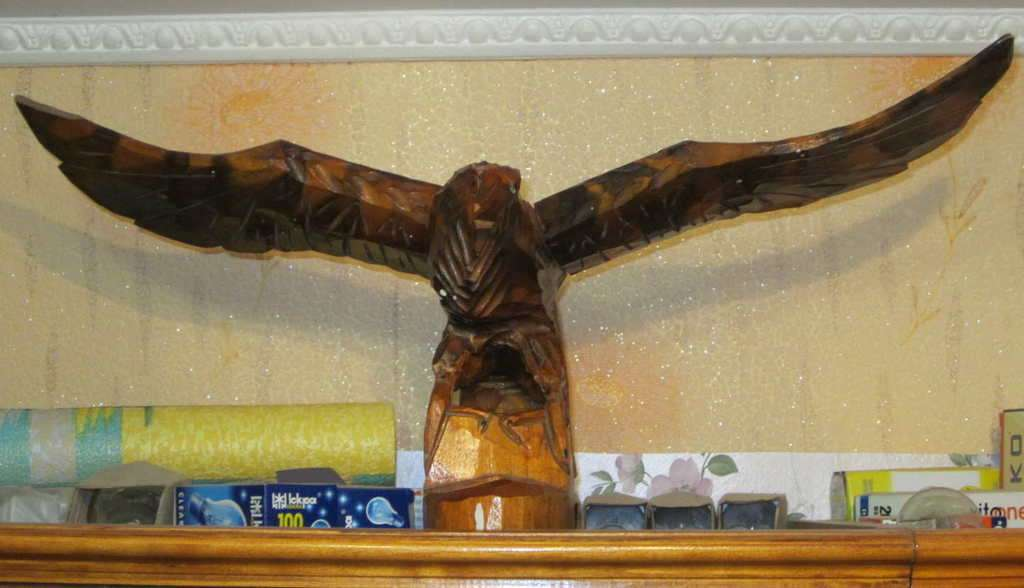 Продам: Орел деревянный резной. Ручная робота