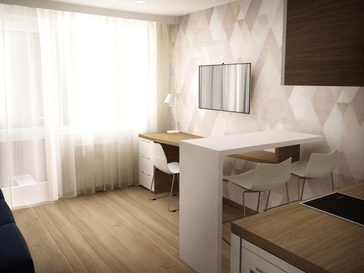 Квартира современного, молодого человека! С самым необычным дизайном!