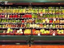 Продавец в овощной отдел супермаркета