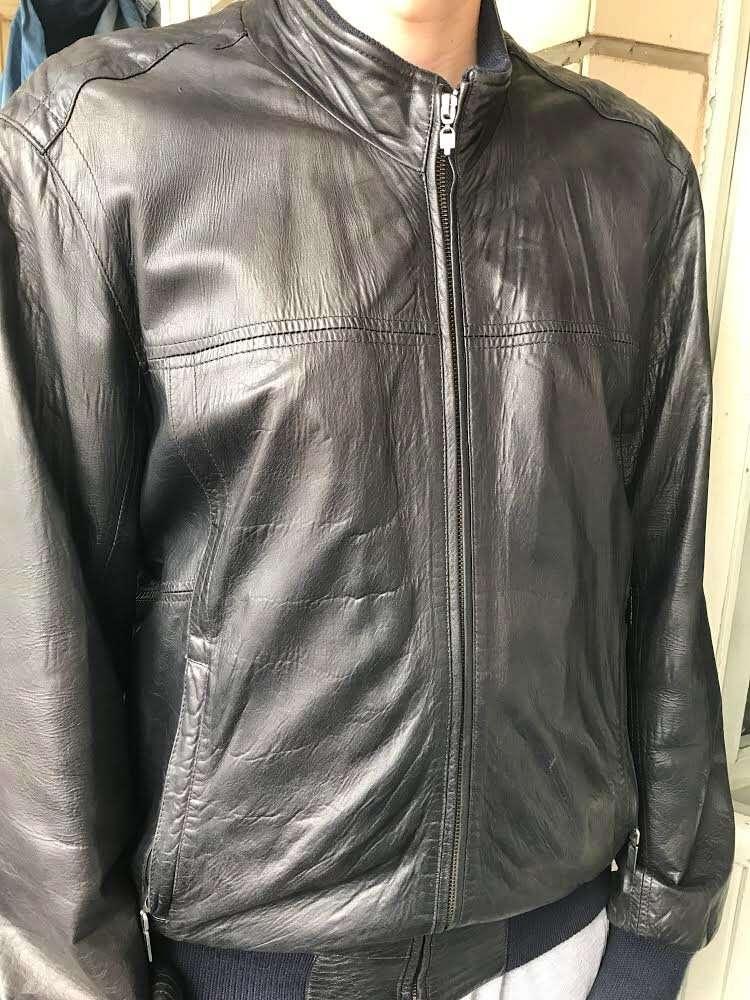 Куртка кожаная мужская Gallotti (Италия)