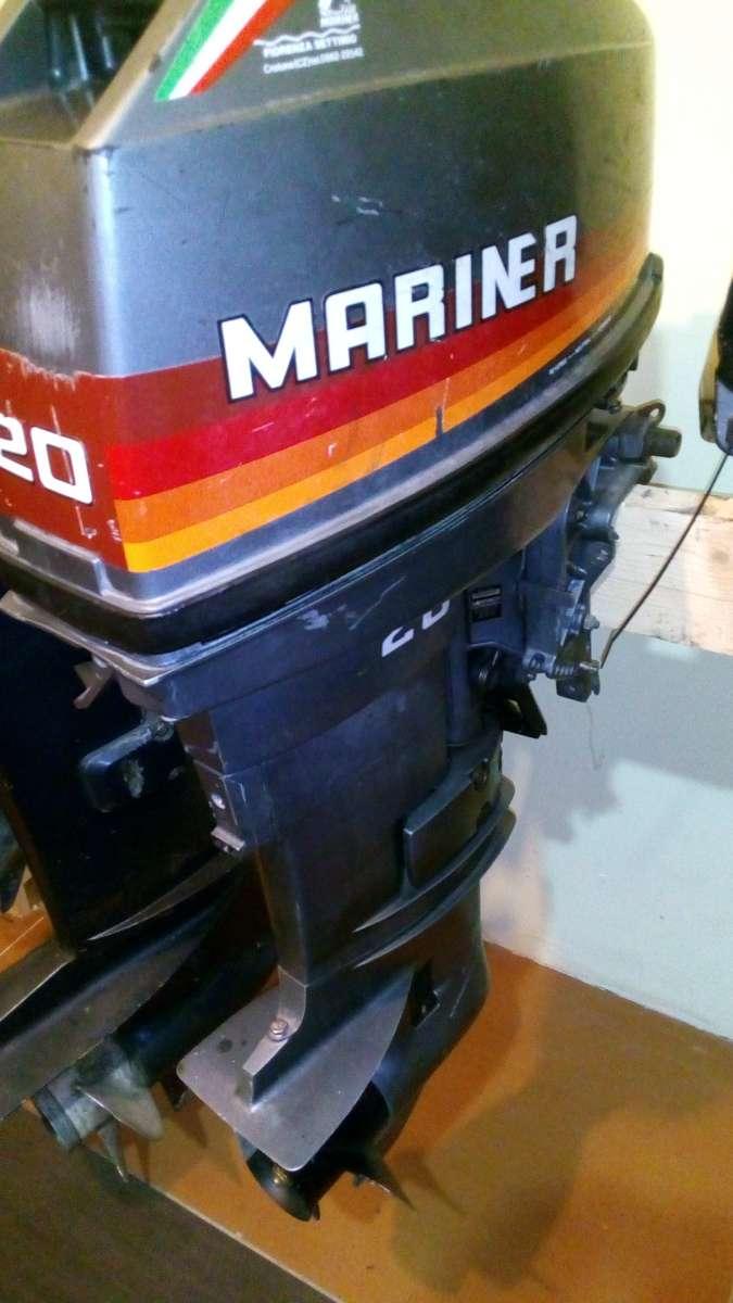Продам лодочный мотор Mariner 20 л.с