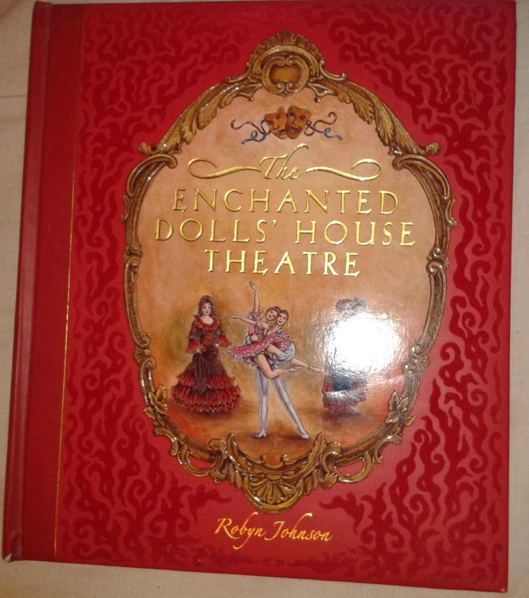 Интерактивная книга на английском The enchanted doll`s house theatre.