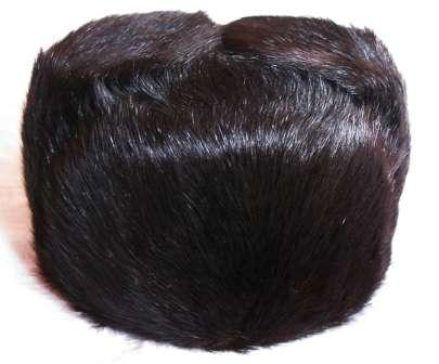 Шапка – обманка из натурального меха. Женская, 56 размер.