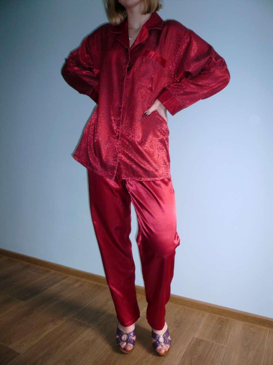 3f643a6c12ea Домашний изысканный атласный костюм доставка в подарок