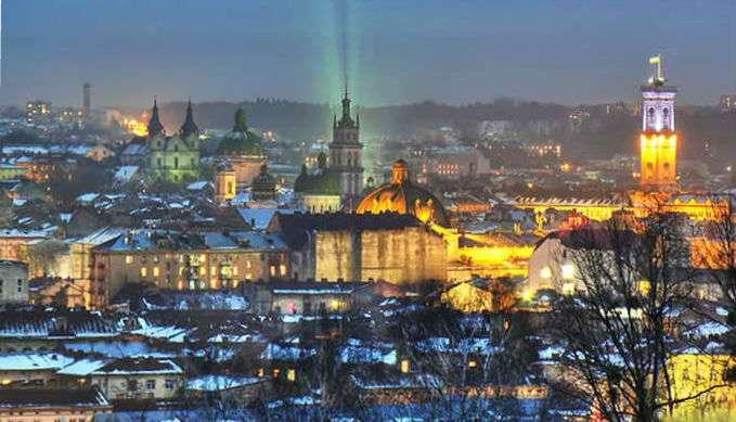 тур Львов Новый год из Киева все включено, Львов на выходные из Киева