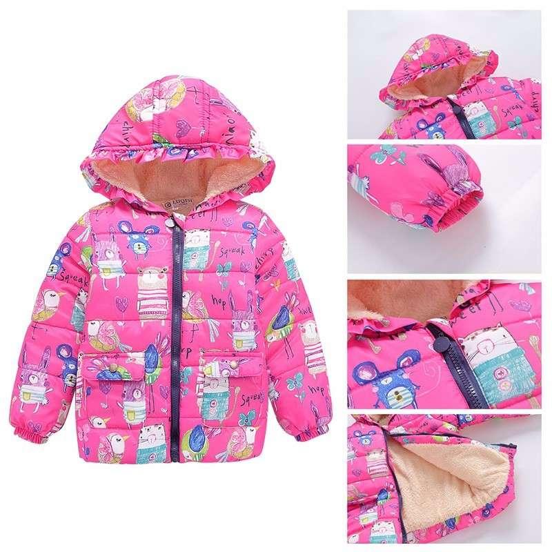 Куртка Новая Зимняя Bibicola Плотные хлопковые Супер качество Теплая