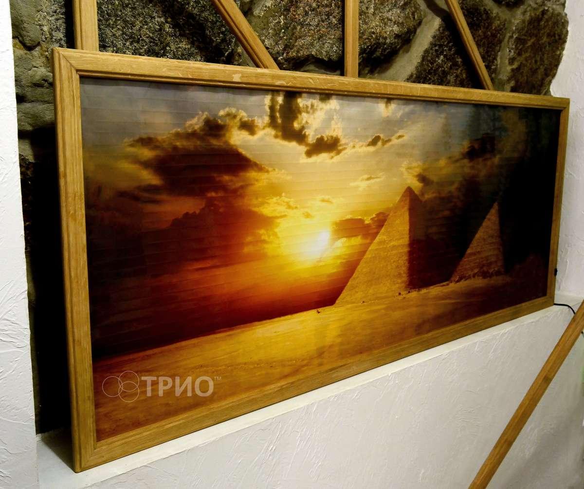 Настінний інфрачервоний плівковий обігрівач-картинаТРИО