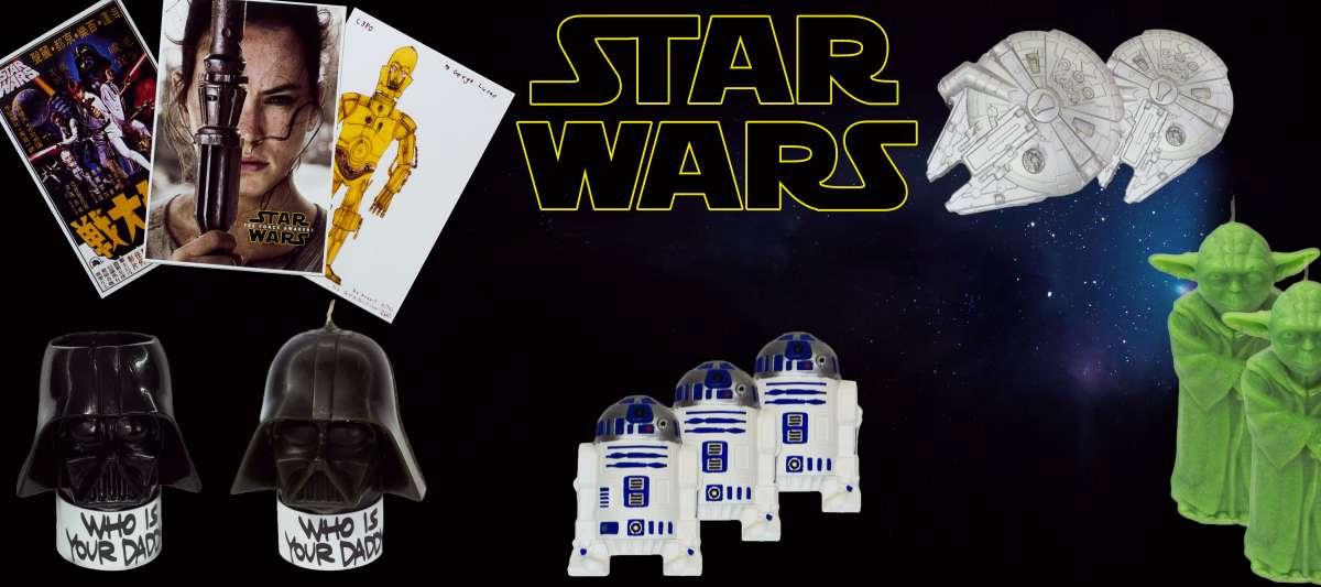 Колекційні свічки\магніти Star Wars