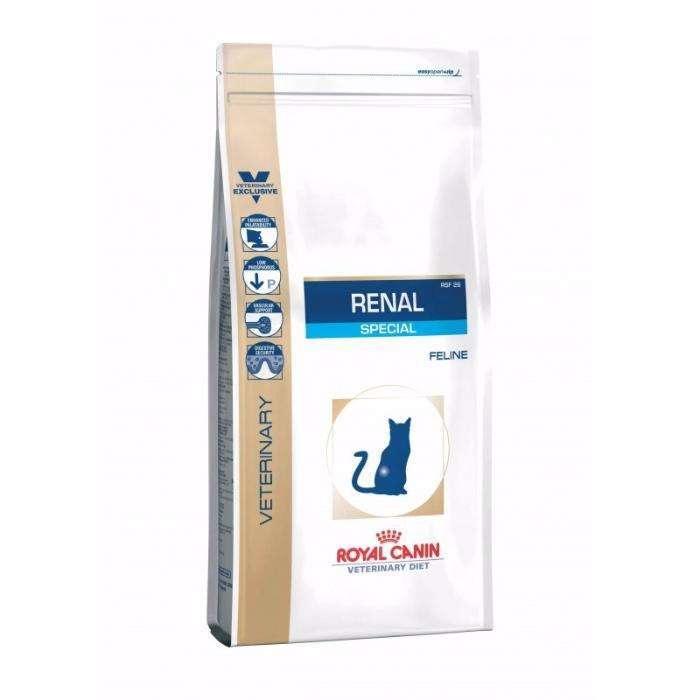 Сухий корм для котів Royal Canin Renal Special RSF 26 2 kg запакований