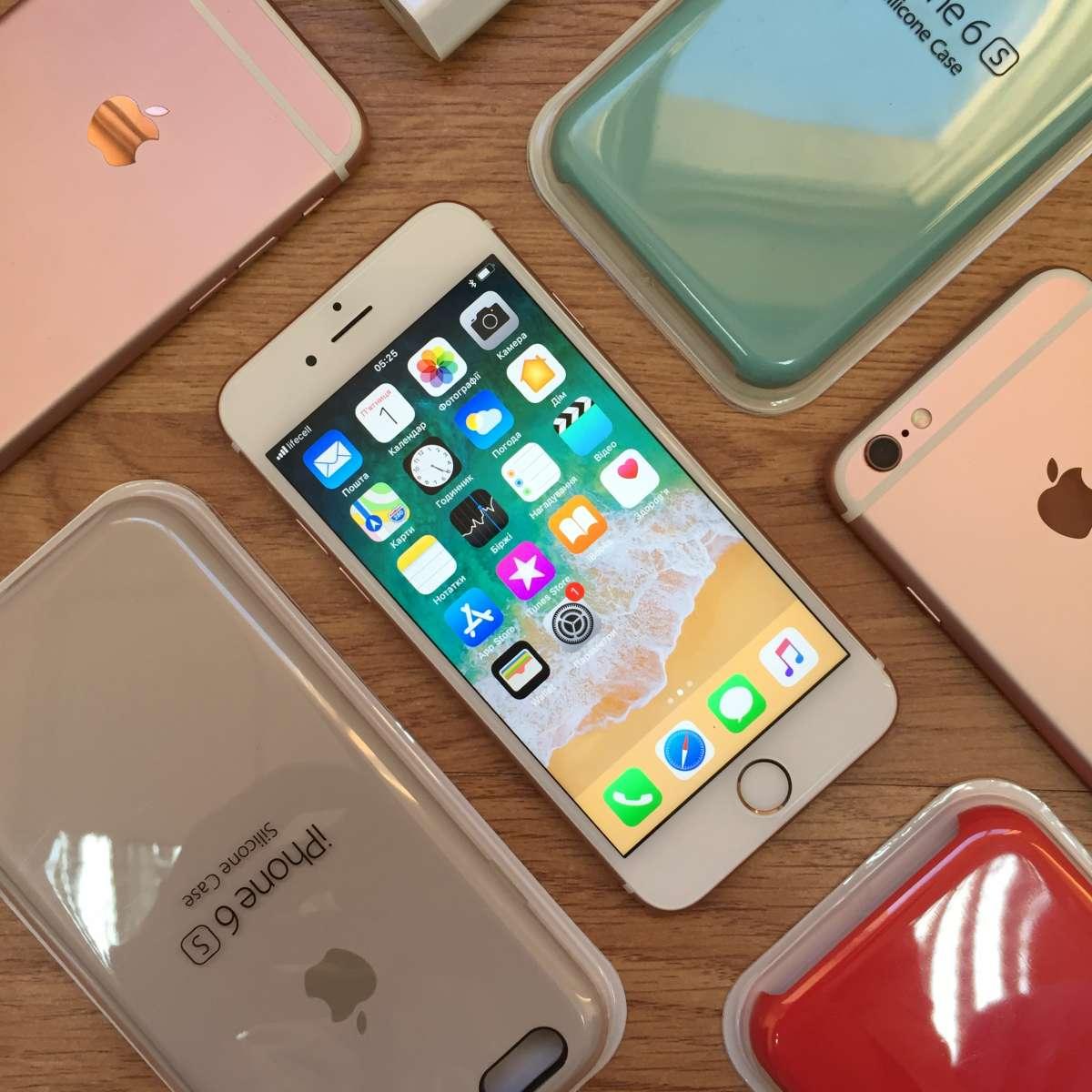 Apple iPhone 6s 16gb Rose Gold + Подарунок гарантія