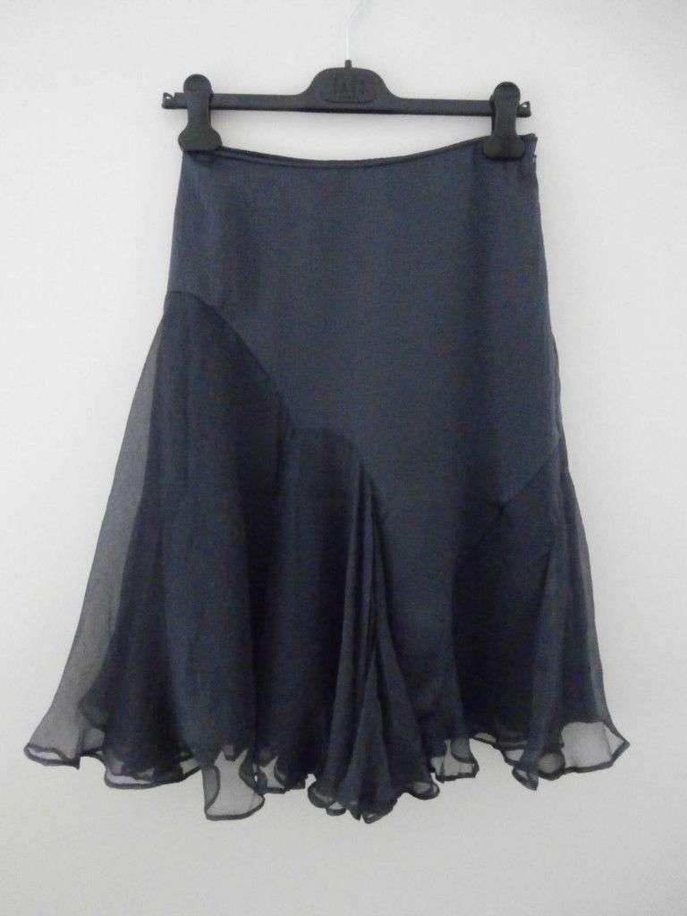 Роскошная шелковая юбка Fenn Wright Manson, р.англ.12, европ.38, М-ка