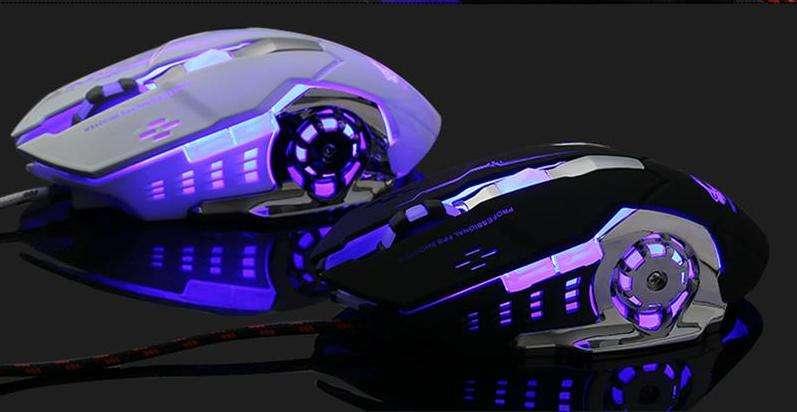 Профессиональная игровая мышка с подсветкой