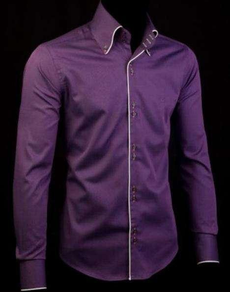929558795efaed2 Рубашка мужская приталенная Franttini Slim Fit PK143.04. Размер: XXL .