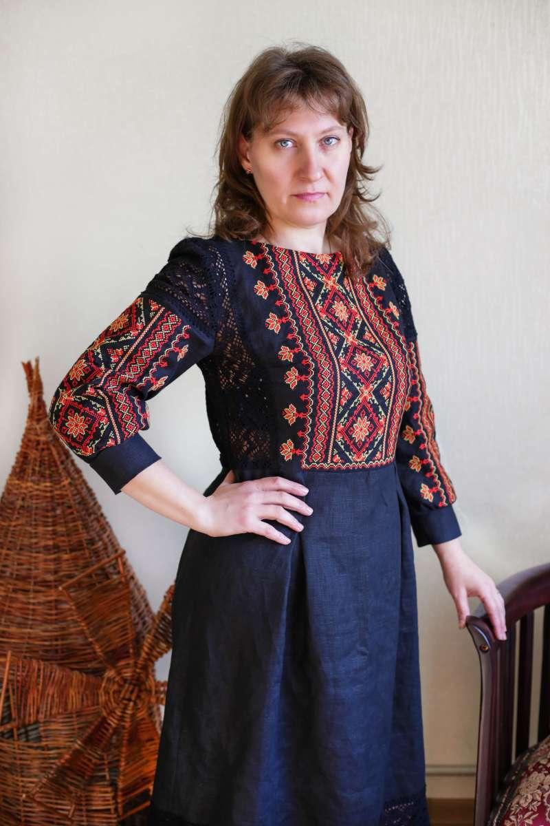 Вишита жіноча сукня 359eb308ec0a7