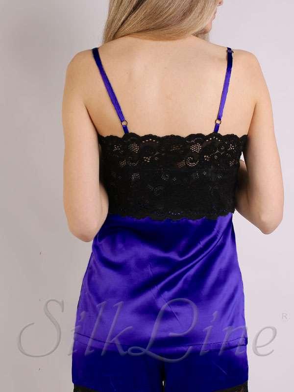 Женские шелковые пижамы и ночнушки SilkLine