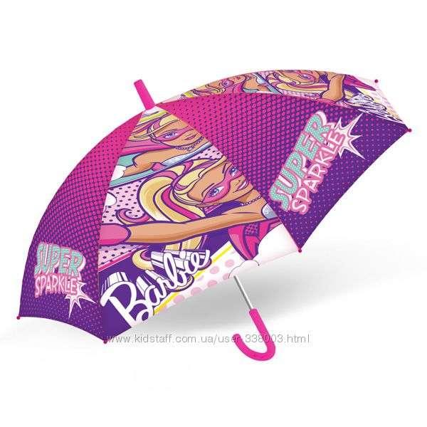 Яркий зонтик Барби.