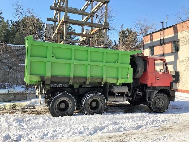 Услуги самосвала «Татра-815». 16 тонн.