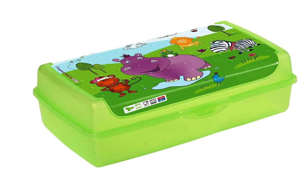 Бутербродница 'Hippo' maxi Keeeper 0702 Польша салатовый 12115156