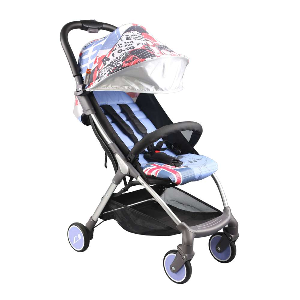 Прогулочная коляска Babysing A742A Франция серый-голубой 12116772