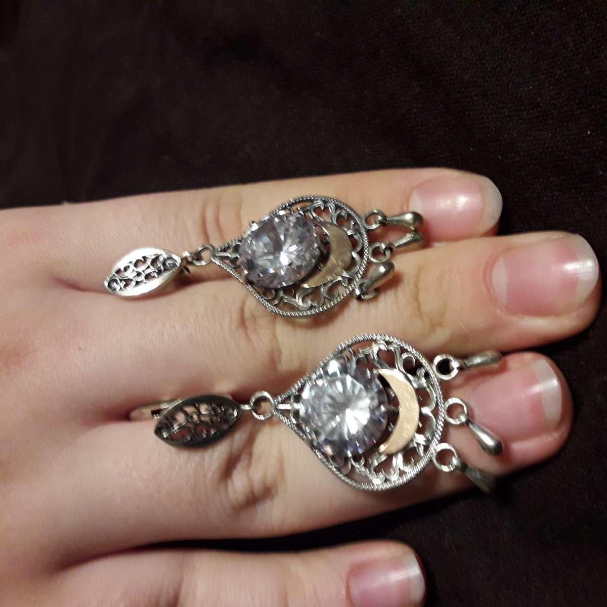 Распродажа серебряных серьг