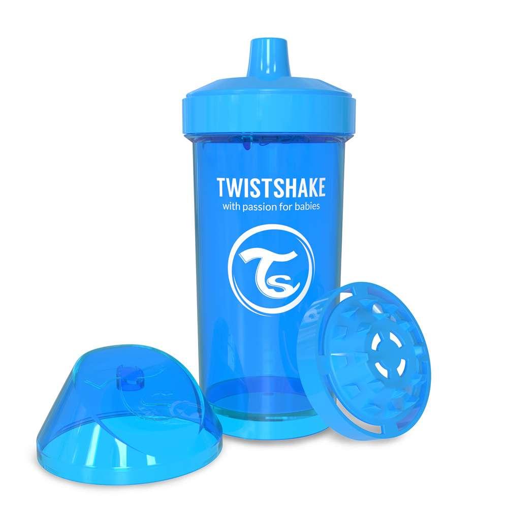 Детская чашка-непроливайка 360 мл. Twistshake Швеция голубой 12124902