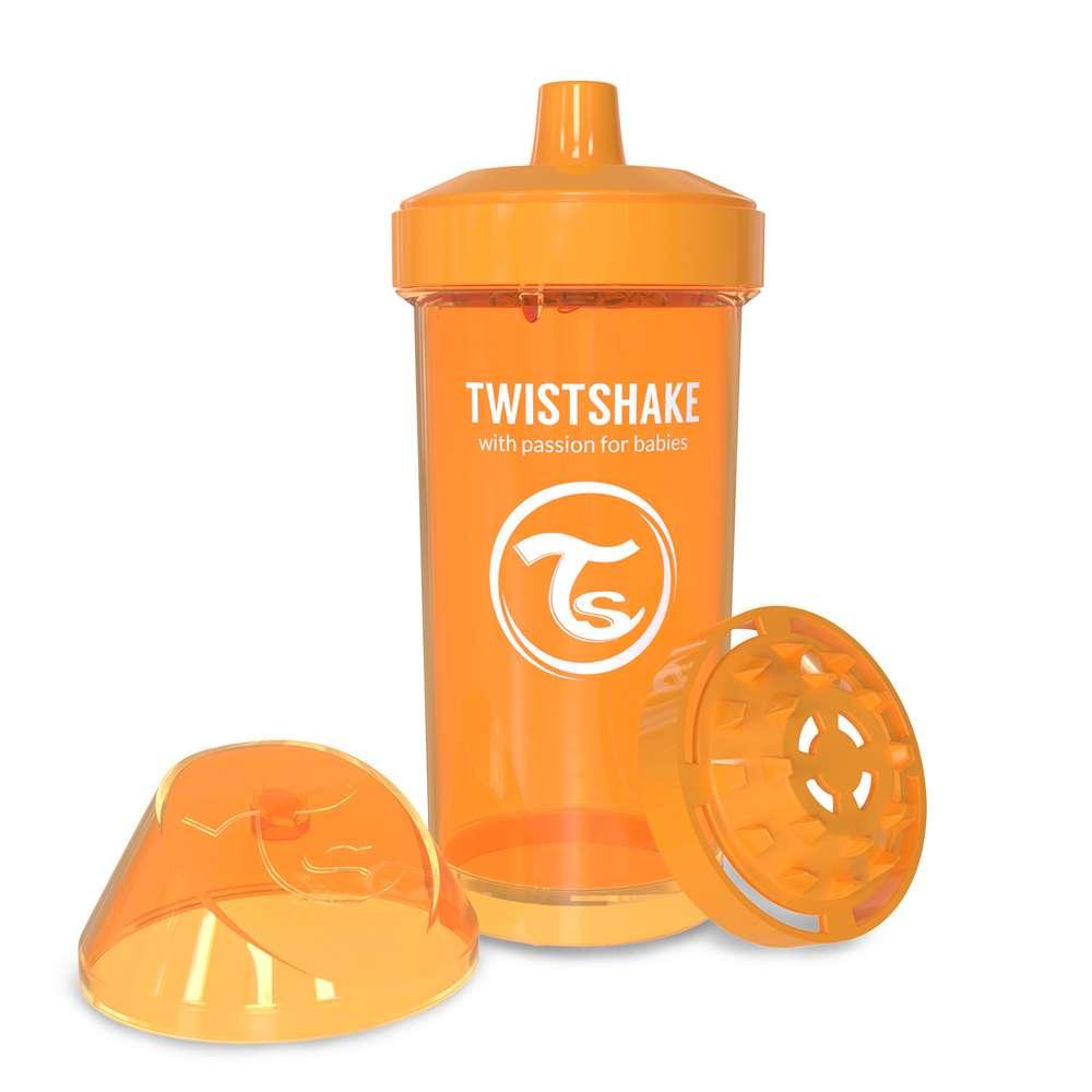 Детская чашка-непроливайка 360 мл. Twistshake Швеция оранж 12124903