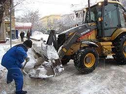 Услуги снегоуборочной техники в киеве
