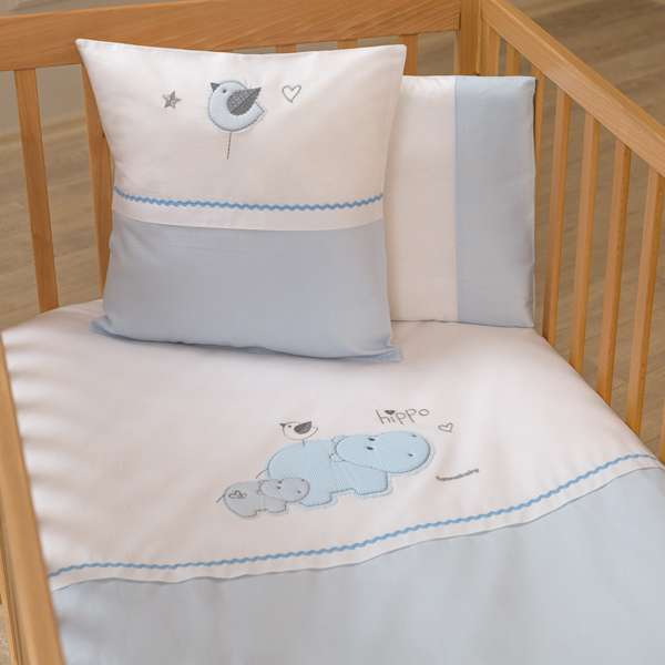 Набор постельного белья Hippo (3 предмета) FunnaBaby Турция 12126048