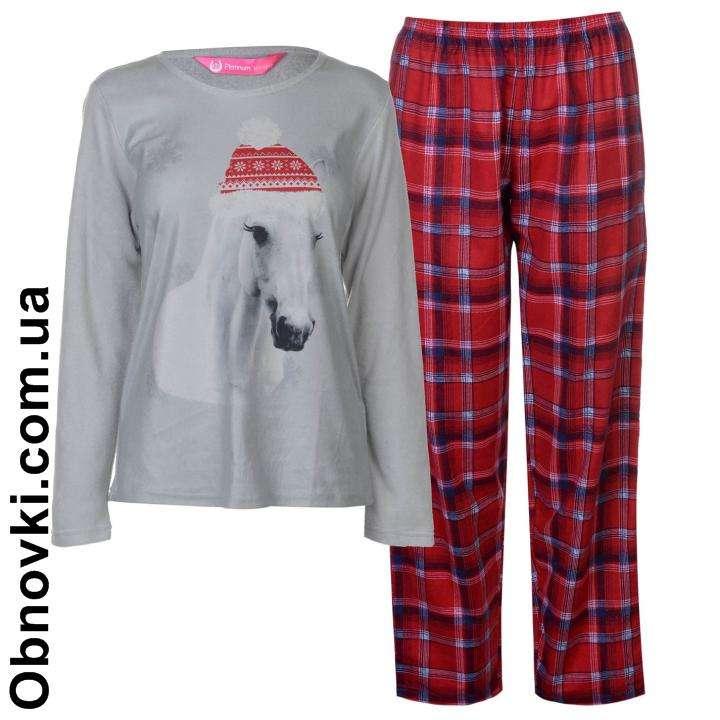 Женская пижама с принтом