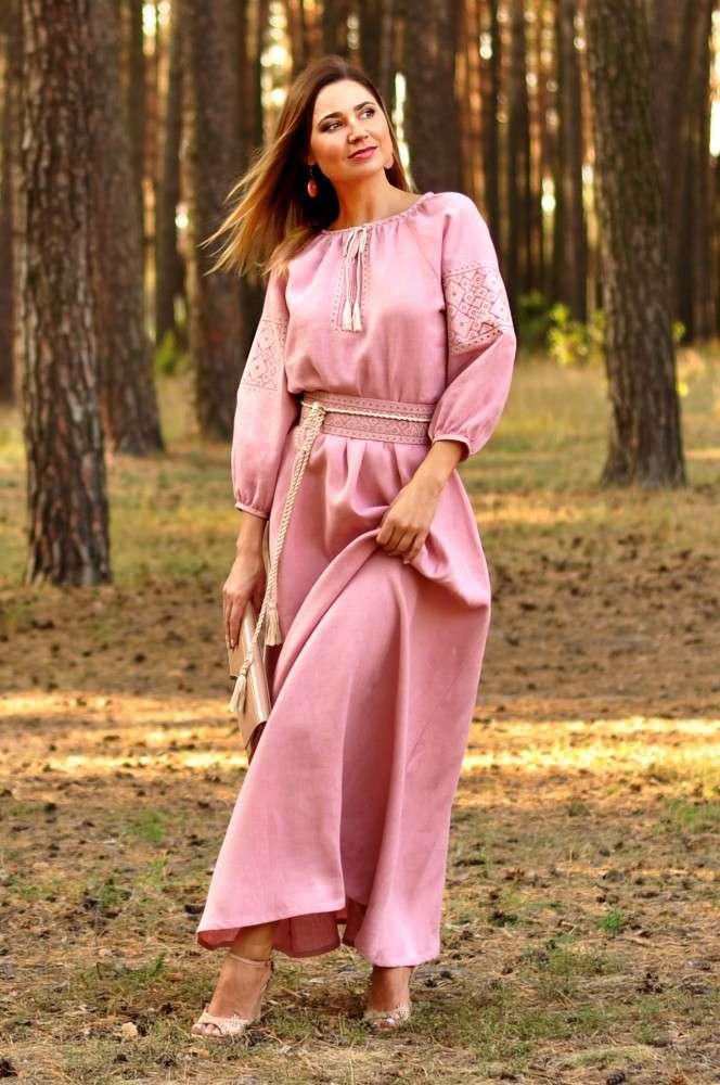 67d56a28291560 Сукня з вишивкою сучасна