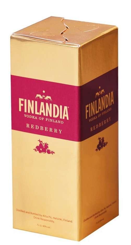 Финляндия Клюква 2л (Finlandia Redberry)