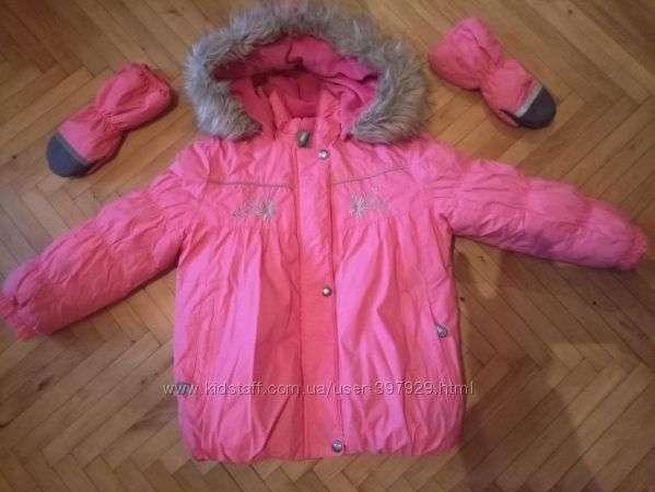 Зимняя куртка Lenne р.104 /3-5 лет