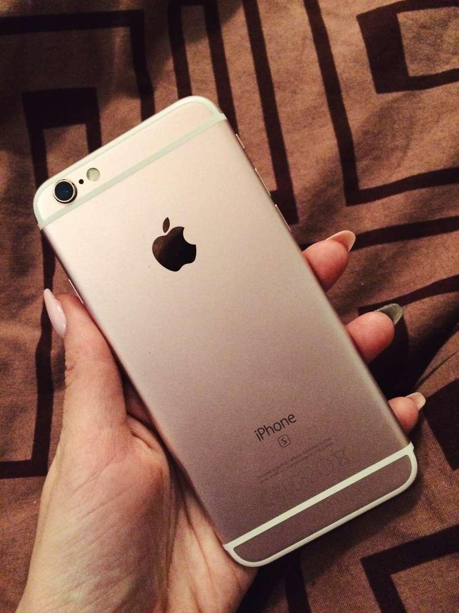 IPhone 6s neverlock rose gold 16g
