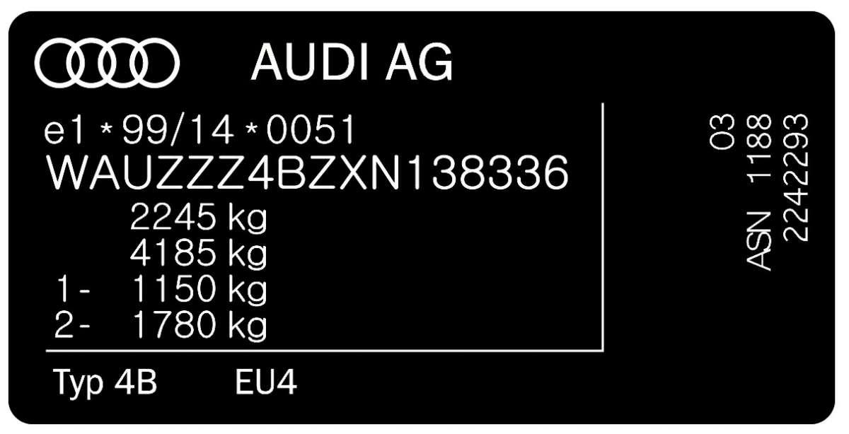 Изготовлю и изменю наклейку с Vin KOD на Ваши данные автомобиля. Без п