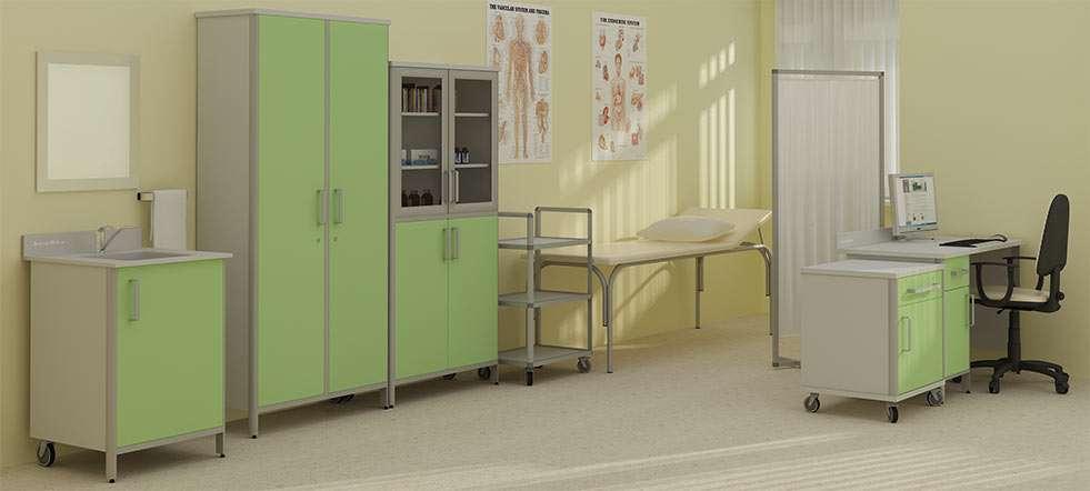 Медицинская мебель