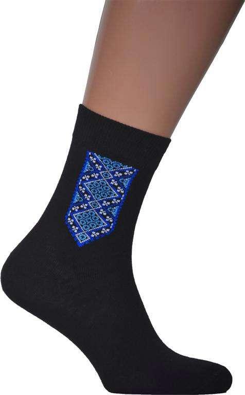Чоловічі шкарпетки з вишивкою