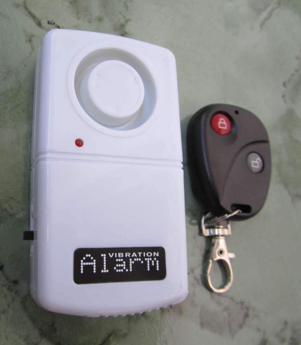 Охранная вибро сигнализация «Vibration Alarm» с брелком