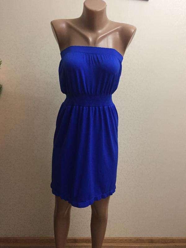 Синие,летнее платье Atmosphere